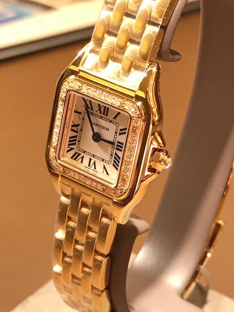 new style 0115c dd72f KAMINEスタッフブログ   Cartier パンテール イエローゴールド ...